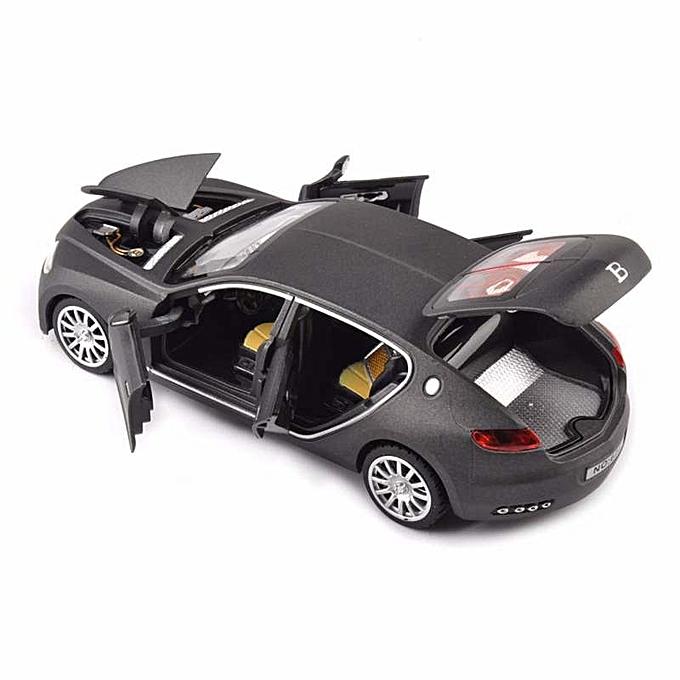 OEM nouveau1 32 Bugatti Veyron 16C Galibier voiture Vehicle Model W lumière&Sound gris Toys Enfant à prix pas cher