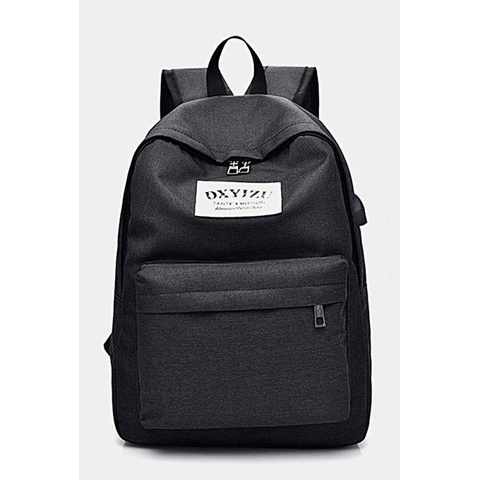 Generic Men's Backpack Casual Shoulder Bag Soft Outdoor Travel Computer à prix pas cher