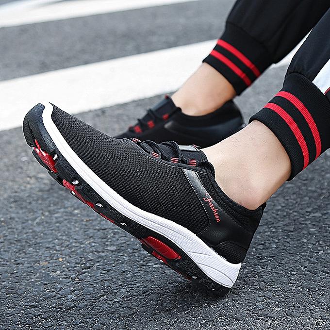 Fashion Men's casual chaussures running tide chaussures wild lightweight chaussures noir à prix pas cher    Jumia Maroc