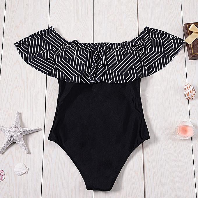 Autre Swimsuit femmes Ruffle Swimwear Female One-Piece Suits Bathing Suit Maillot Padded Miao Beach Bathers Summer(ASTK7023) à prix pas cher