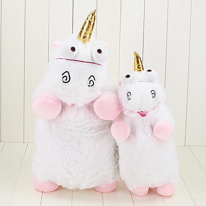 Autre 52cm 40cm rose Cute Fluffy Unicorn Plush Toys Soft Stuffed Big Animal Unicorn Plush Dolls(40cm) à prix pas cher