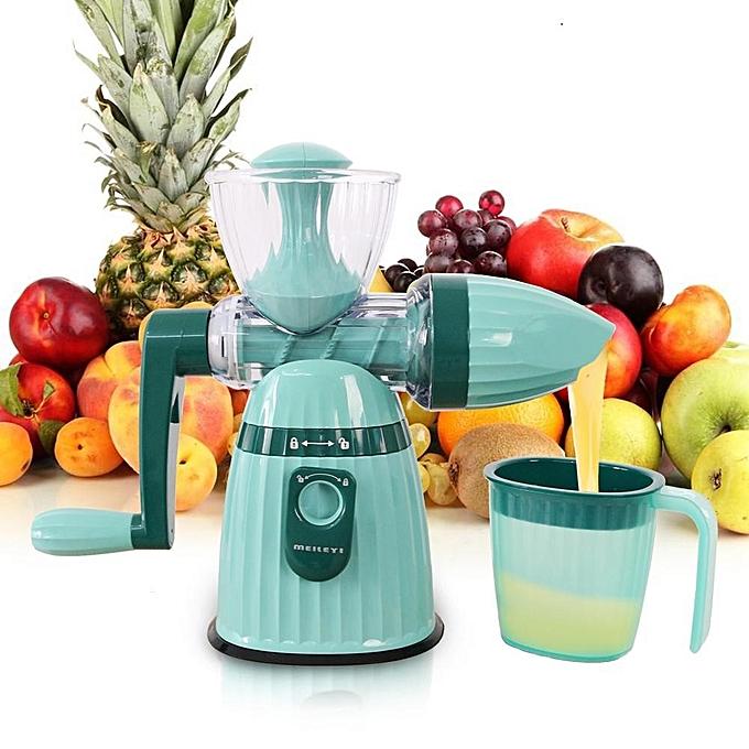 g n rique centrifugeuse manuelle manivelle 2en1 parfaite pour le jus de fruits et l gumes. Black Bedroom Furniture Sets. Home Design Ideas
