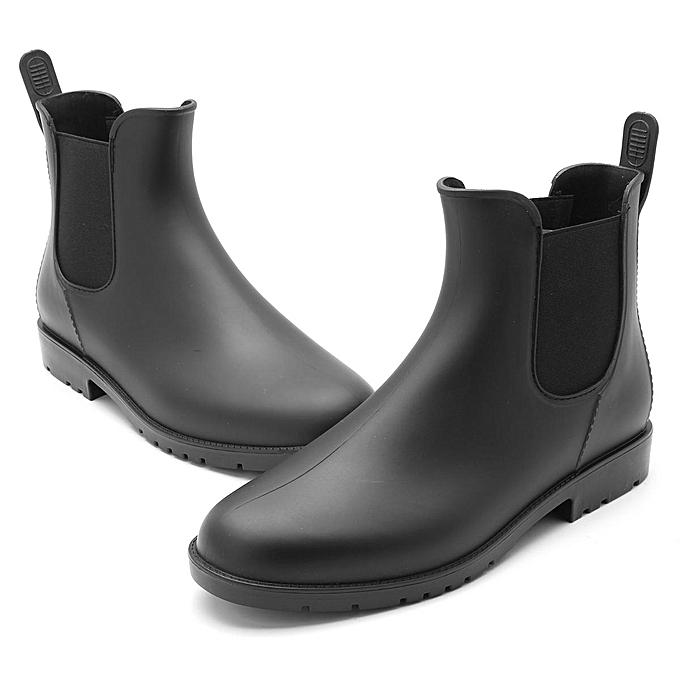 Fashion Fashion Fashion Fashion   Water Resistant High Top Rain Boots-EU à prix pas cher  | Jumia Maroc febb38