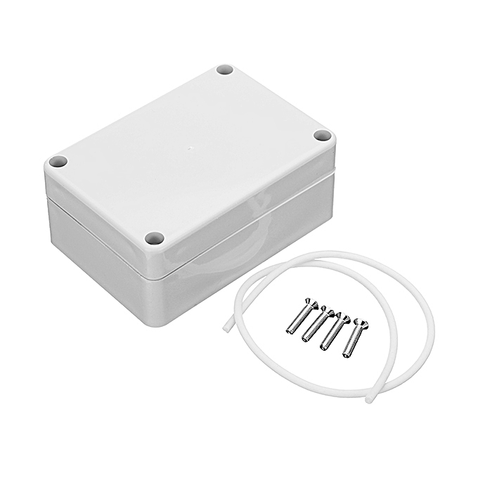 UNIVERSAL 5pcs 83x58x33mm DIY Plastic Waterproof Housing Electronic Junction Case Power Box Instrument Case à prix pas cher