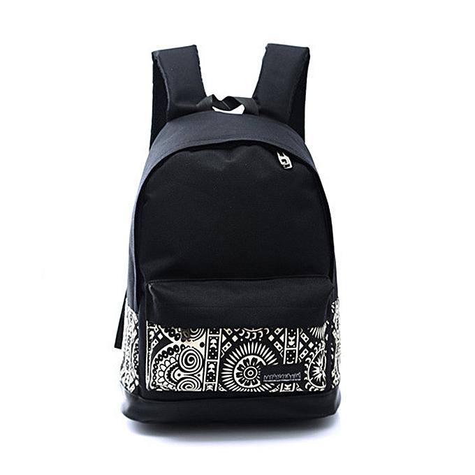 OEM Unisex Boys Girls Canvas Rucksack Backpack School Book Shoulder Bag à prix pas cher