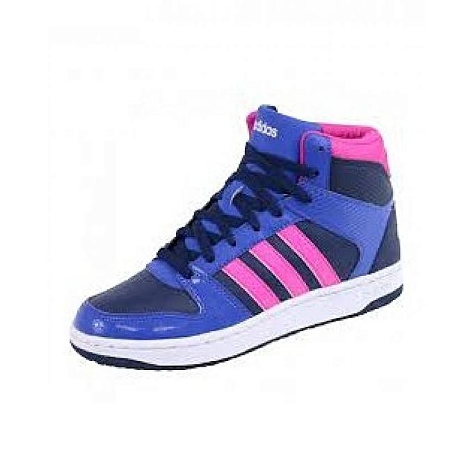 Chaussures Montante Bleu VS Hoopster Femme Adidas