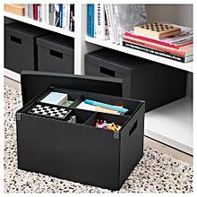 Boîte De Rangement Avec Couvercle 35 X 25 X 20 Cm