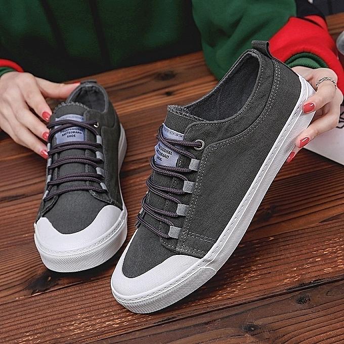 Autre Stylish Breathable Casual  's Flat Canvas Canvas Canvas Sneakers Shoes à prix pas cher    Jumia Maroc ba5630