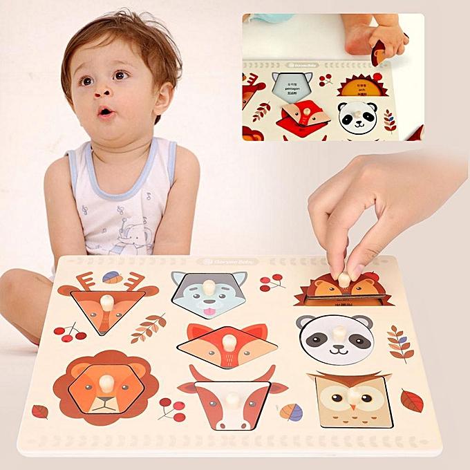 Other Alphabet Number Graph bois Cognitive Puzzle Set Enfants Early Educational Learning Toys à prix pas cher