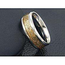 Bague Royal de luxe Homme pour mariage  amoureux en acier inoxydable très  chic-Stainless b82fea49399