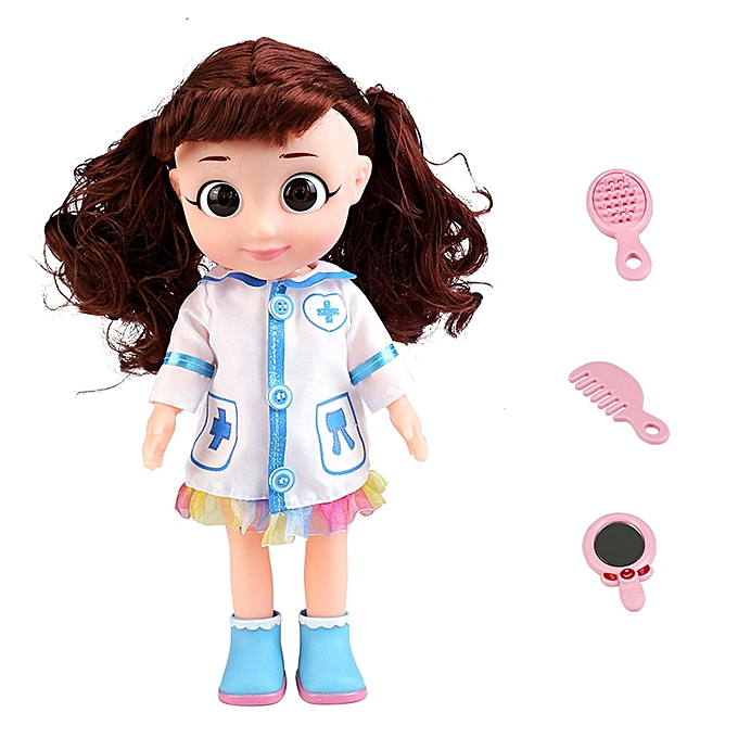 UNIVERSAL MoFun T2001A Girl Doctor Role Playing Game Toy Electric Voice Simulator Doll à prix pas cher