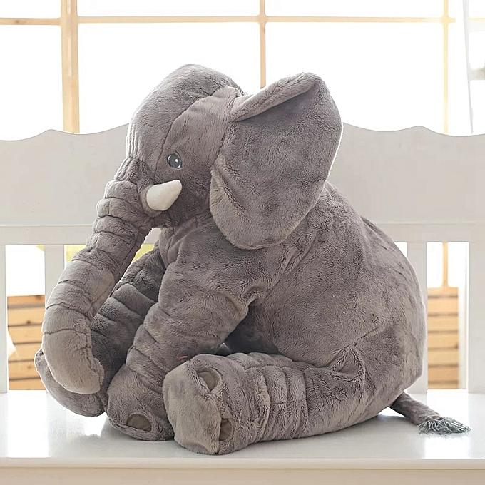 Autre 1PC 40 60cm Infant Soft Appease Elephant Playmate Calm Doll Baby Appease Toys Elephant Pillow Plush Toys Stuffed toy(bleu) à prix pas cher