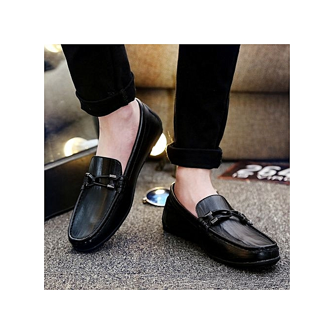 Zant Genuine Leather   Formal Shoes British Sytle Jumia Loafers Slip-On à prix pas cher  | Jumia Sytle Maroc bd65e5