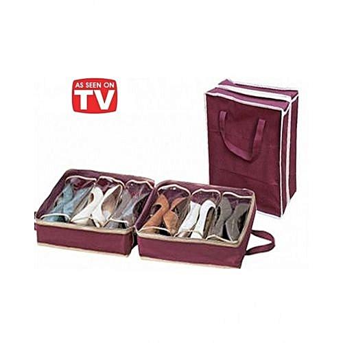 housse rangement chaussures achat rangements jumia maroc. Black Bedroom Furniture Sets. Home Design Ideas