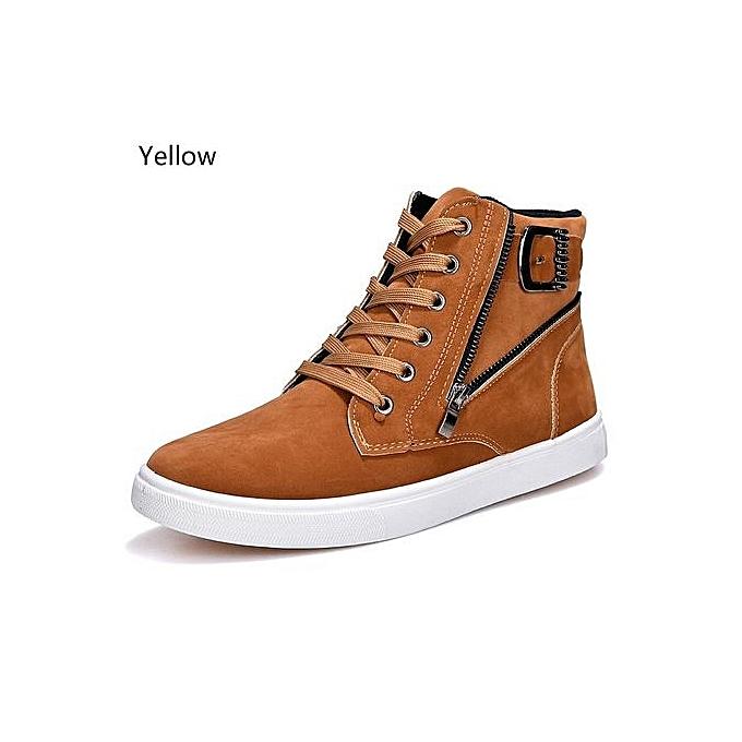 Other Men's Martin bottes Buckle High chaussures à prix pas cher    Jumia Maroc