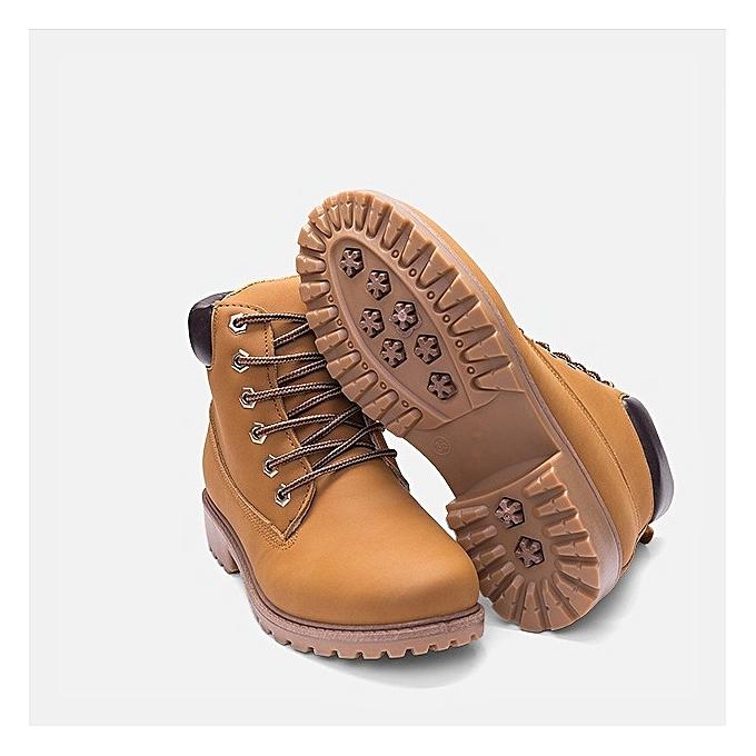 Autre Stylish Autumn Winter WoHommes 's Casual Casual Casual Martin Boots à prix pas cher  | Jumia Maroc 622fac