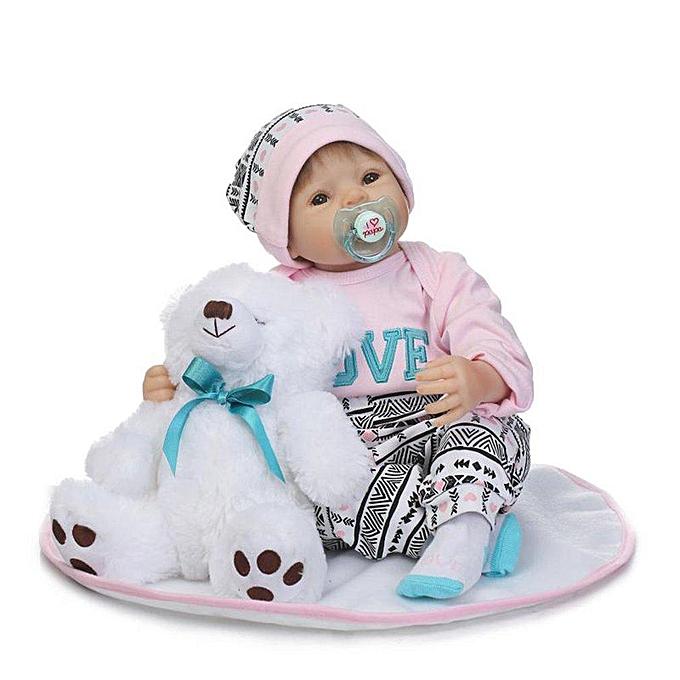 Autre Poupées de bébés rebornés en silicone UR 50CM dorhommet accompagnés de poupées réalistes à prix pas cher