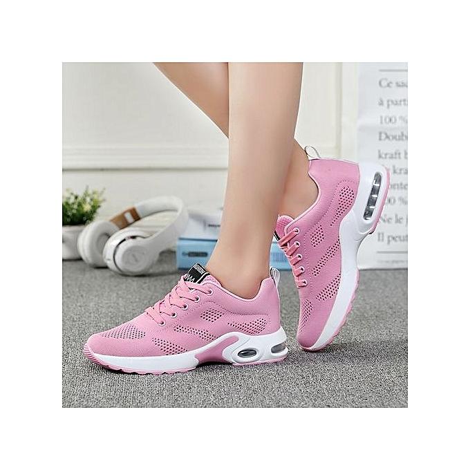 Fashion WoHommes  Sneakers Air-cushion Air-cushion Sneakers Sports Shoes Running Shoes-Pink à prix pas cher  | Jumia Maroc 88f033