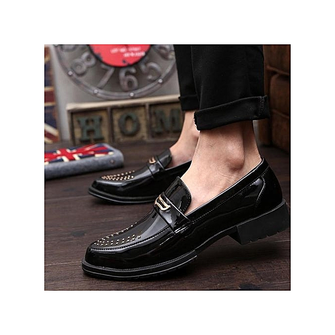Zant Genuine Leather   Formal Shoes British British Shoes Sytle Loafers Slip-On à prix pas cher  | Jumia Maroc 73983b