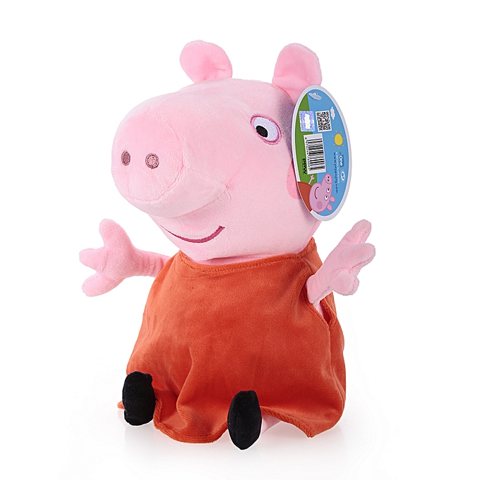 Autre Brand Peppa Pig 30cm Peppa Stuffed Plush Toy Family Party Doll Christmas New Year Gift for Kids à prix pas cher