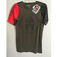 Tshirt Homme SPARTAN GREENRED f3afe907eb5