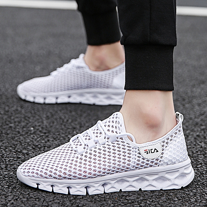 Fashion Men's summer breathable mesh chaussures hommes sports and leisure mesh wild running tide chaussures à prix pas cher    Jumia Maroc