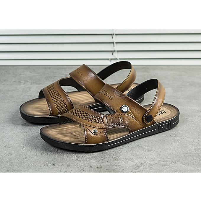 Fashion Men's Casual Sandals Outdoorchaussures Beach Water Slippers Flats à prix pas cher