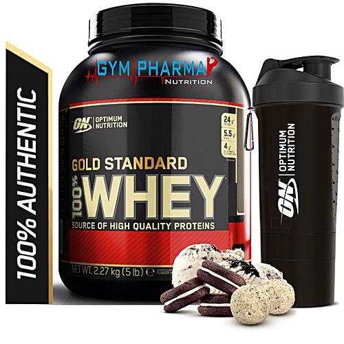 3e1fb234abaa1e Commandez Optimum Nutrition Gold Standard Whey 5lb 2,270 Kg et Smart ...