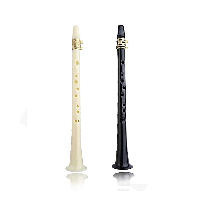 UNIVERSAL Simple Type Small Saxophone Mini Alto Pocket Saxophone -noir à prix pas cher