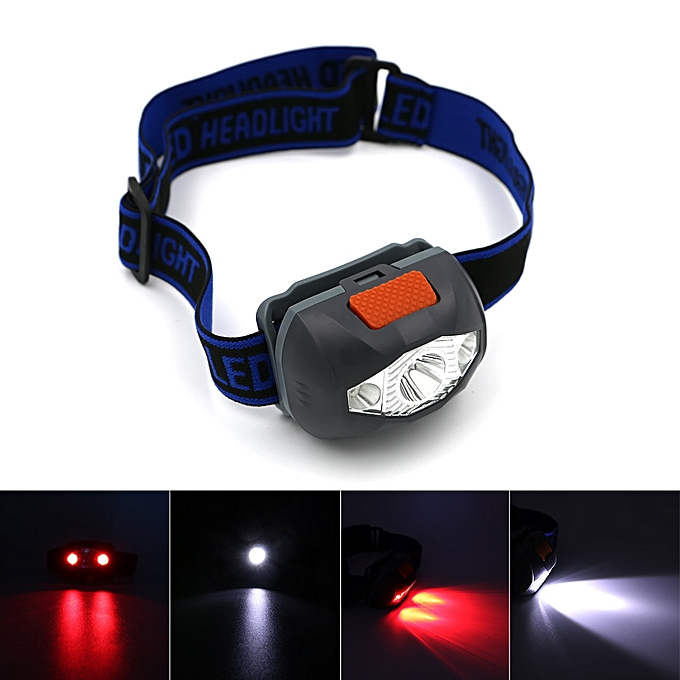 Other Mini Headlamp Light Torch 4 modes Headlamp Mini LED Headlight  AAA battery Outdoor Camping Flashlight Head Torch Lamp  FRASER à prix pas cher