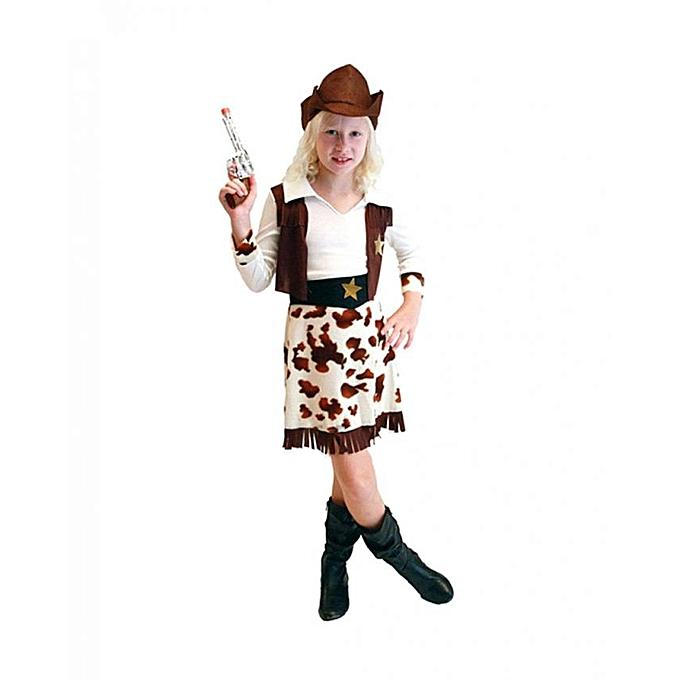 Other DéguiseHommest Cowgirl pour fille (Taille 7-9 ans) à prix pas cher