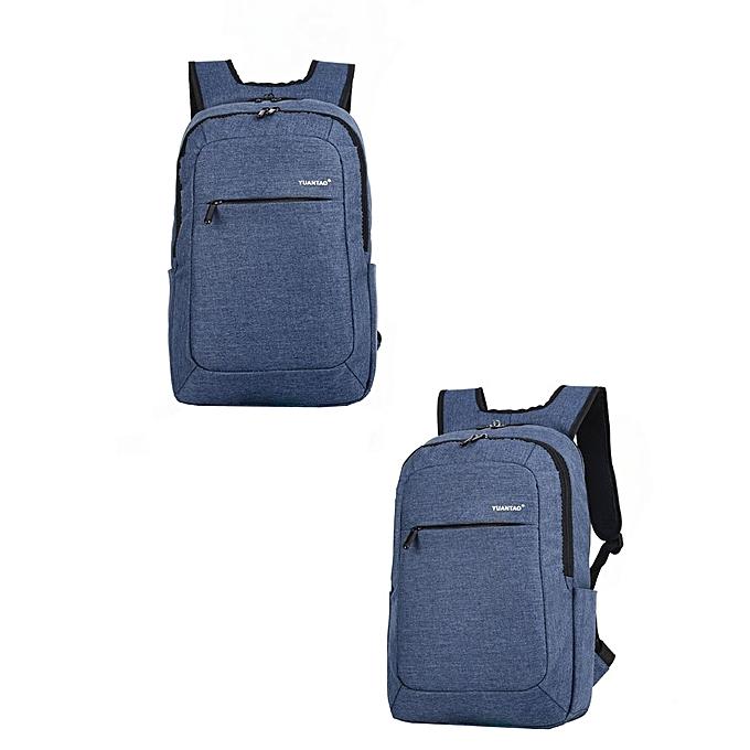 mode Tcetoctre femmes Hommes mode voyage Satchel School sac sac à dos sac Laptop sac BU-bleu à prix pas cher