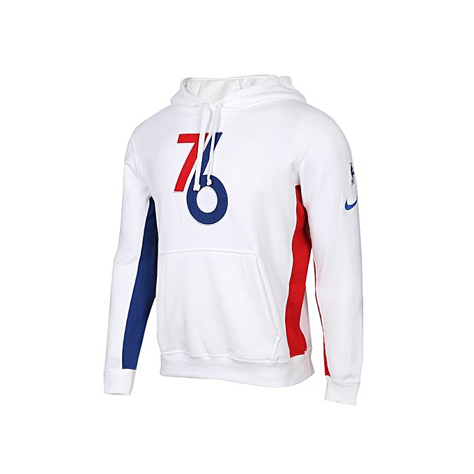 los angeles 15206 4cded Men's White Sports Sweatshirt / Pullover AJ2876-100