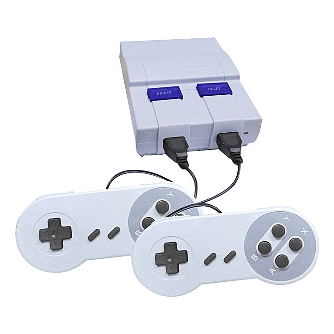 UNIVERSAL Retro Classic TV Mini AV Port Video Game Console, Built-in 400 Games, EU Plug à prix pas cher