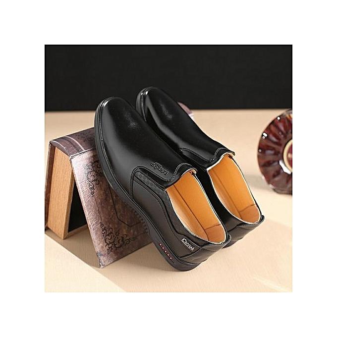 Générique Nice 09  Super Big Large Size Hot Fashion Africa Man Africa Fashion Summer  's Gentle Wedding Leather Shoes Luxury Brand -Noir  à prix pas cher  | Black Friday 2018 | Jumia Maroc 92bfdb