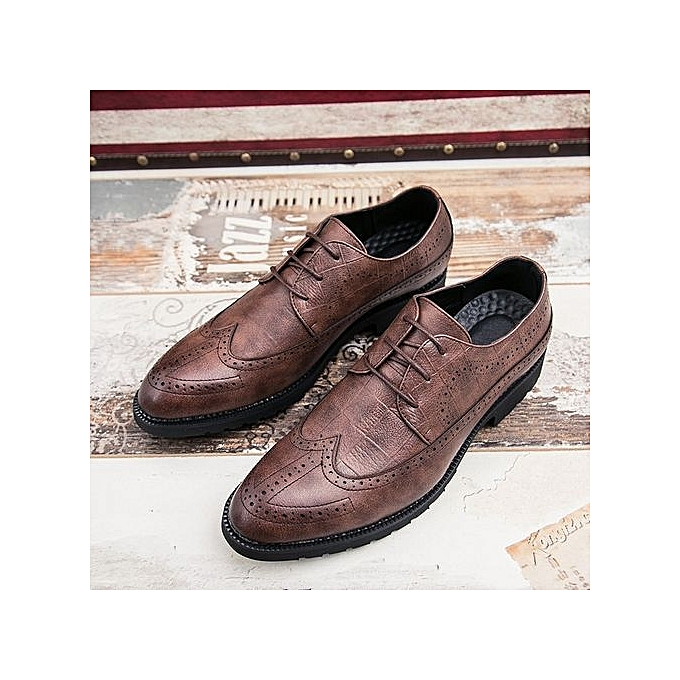 Zant Genuine Leather   Leather  Formal Shoes British Sytle Loafers Slip-On à prix pas cher  | Jumia Maroc d4aa84