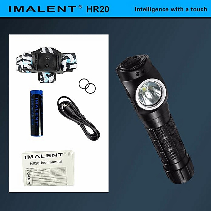 GENERAL quanxinhshang  IMALENT HR20 Headlight Glare Outdoors With Usb Direct Charge à prix pas cher