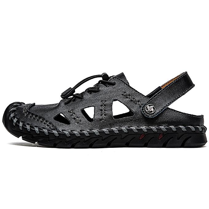 Fashion jiuhap store Men's Breathable Fashion Casual Men's chaussures Large Taille Trekking Sandals à prix pas cher    Jumia Maroc