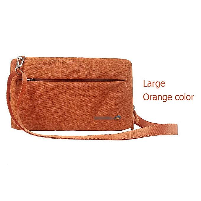 Other Dropshipping   DINIWELL Travel Satchel Bags Multifunctional Crossbody bag Handbag Portable Casual Shoulder Bag(Orange bag) à prix pas cher