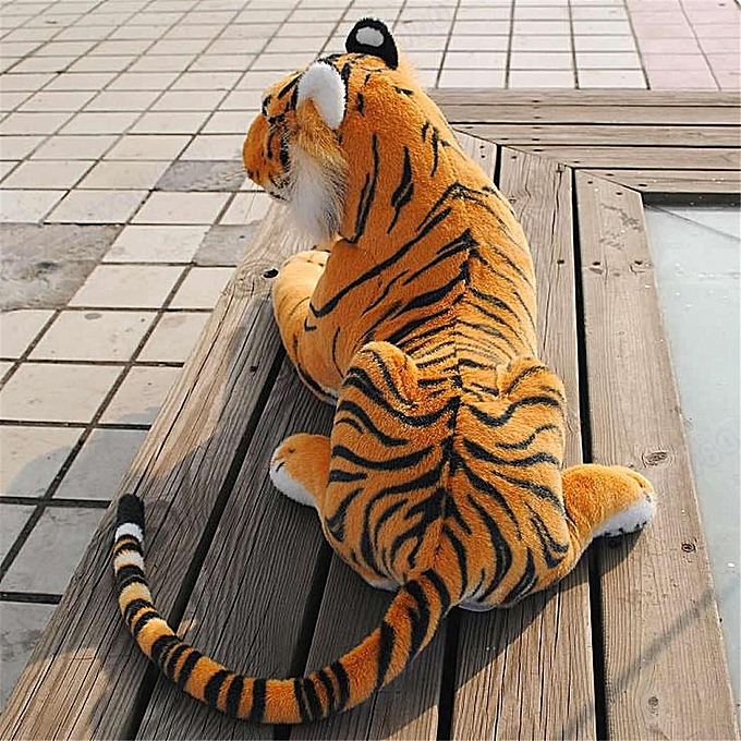 UNIVERSAL grand Giant Artificial Doll Plush Tiger Soft Cuddly Toy Simulation Lifelike 30cm à prix pas cher