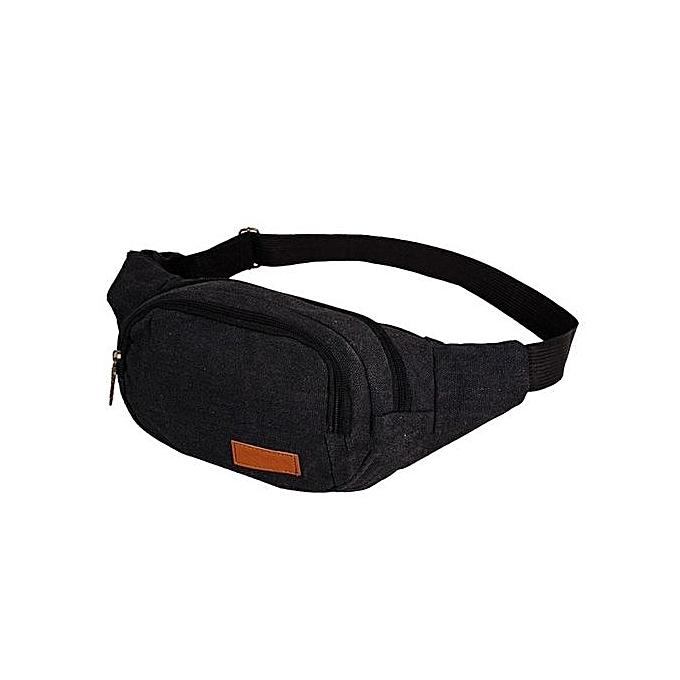 Eissely Outdoor Sports Casual Backpack Crossbody Shoulder Bag Chest Bag noir à prix pas cher