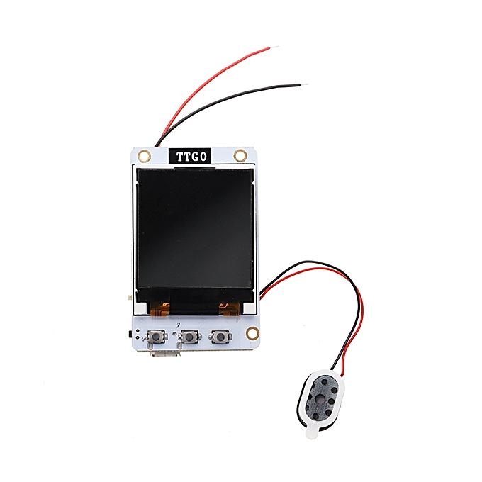 UNIVERSAL Wemos® TTGO TS V1.0 esp32 1.44 TFT MicroSD Card Slot Speakers bleutooth Wifi Module à prix pas cher