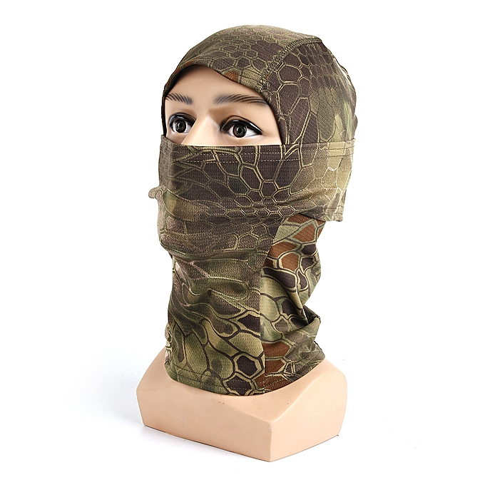 GENERAL yingwaias Camouflage Army Cycling Motorcycle Bicycle Cap Balaclava Hat Full Face Mask à prix pas cher