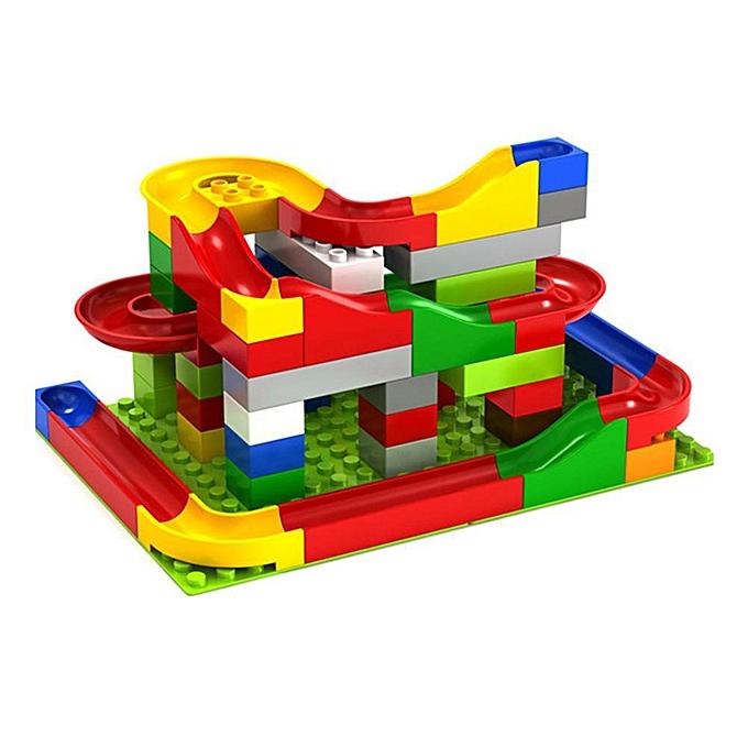 Autre P & amp; L Bricolage Construction Marbre Course Run Maze Balls Piste De Construction Blocks-73Pcs à prix pas cher