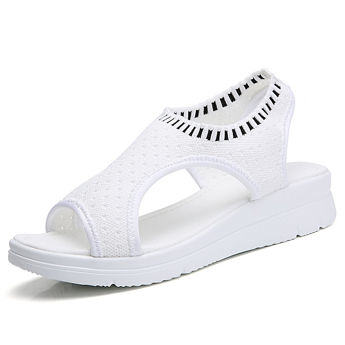 Fashion Flat chaussures femmes fashion wild wedge sandals à prix pas cher    Jumia Maroc