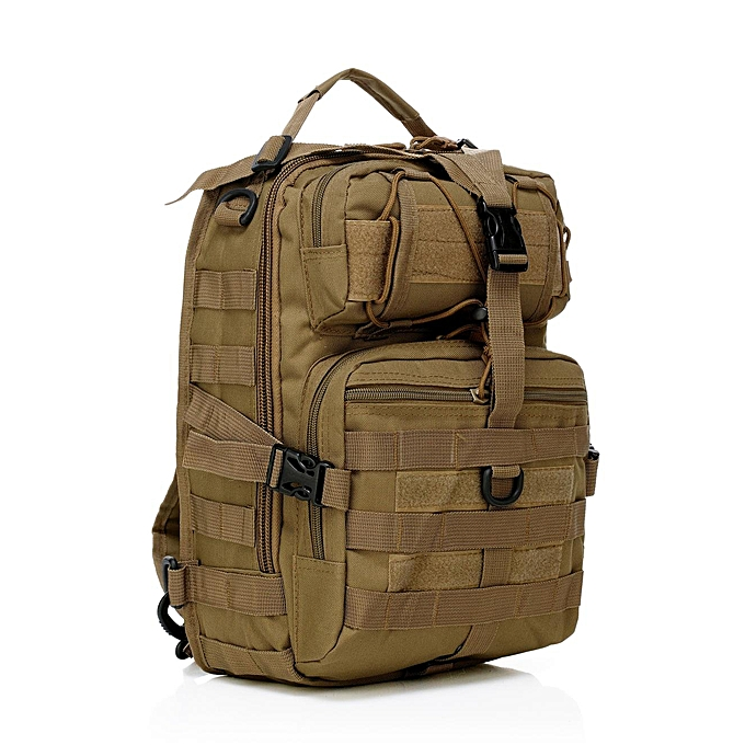 Fashion Men Oxford Tactical Chest Pack Molle Slingle Shoulder Backpack Sling Bag à prix pas cher