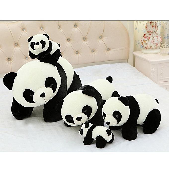 Autre Rencontre amoureuse enfants panda poupée en peluche jouets animaux poupées en tissu cadeau pour filles garçons à prix pas cher