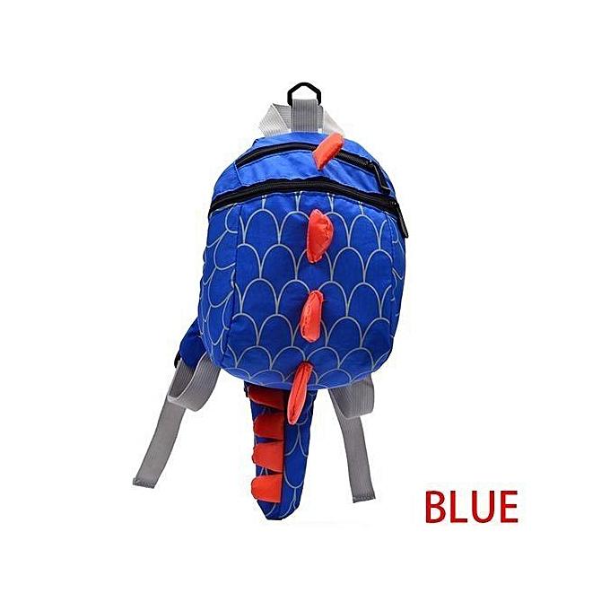 Fashion Kids Baby Anti-lost Dinosaur Backpack Aminals Kindergarten Cartoon Bags à prix pas cher