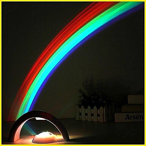 Projecteur LED chambre enfant et bébé pour un sommeil sous les couleurs de  l arc bd14b89fc666
