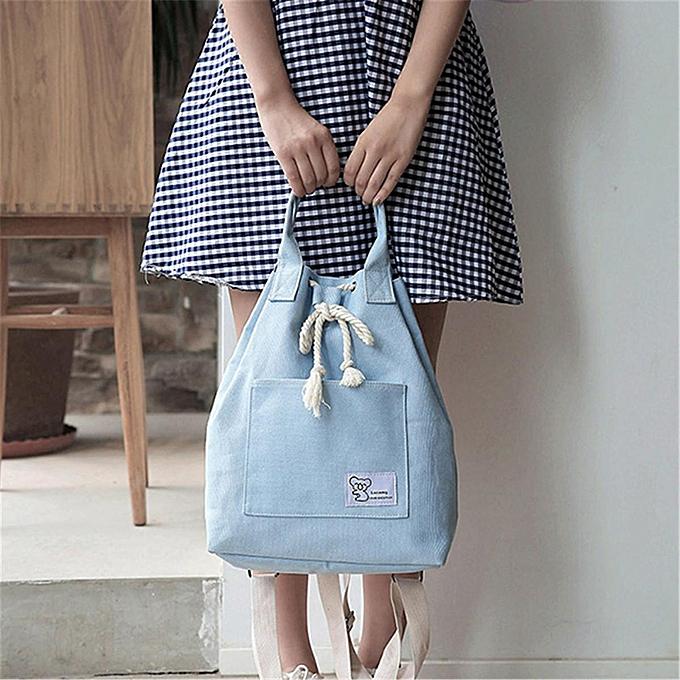 mode femmes Grils toile Multifunction sac à dos voyage Stbague Bucket Tote Handsacs sac à prix pas cher